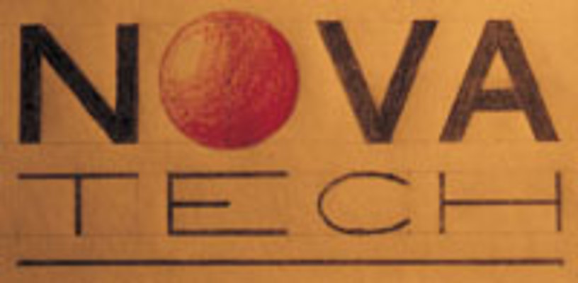 "The first NOVA logo. ""Home-made"", just like the wings."