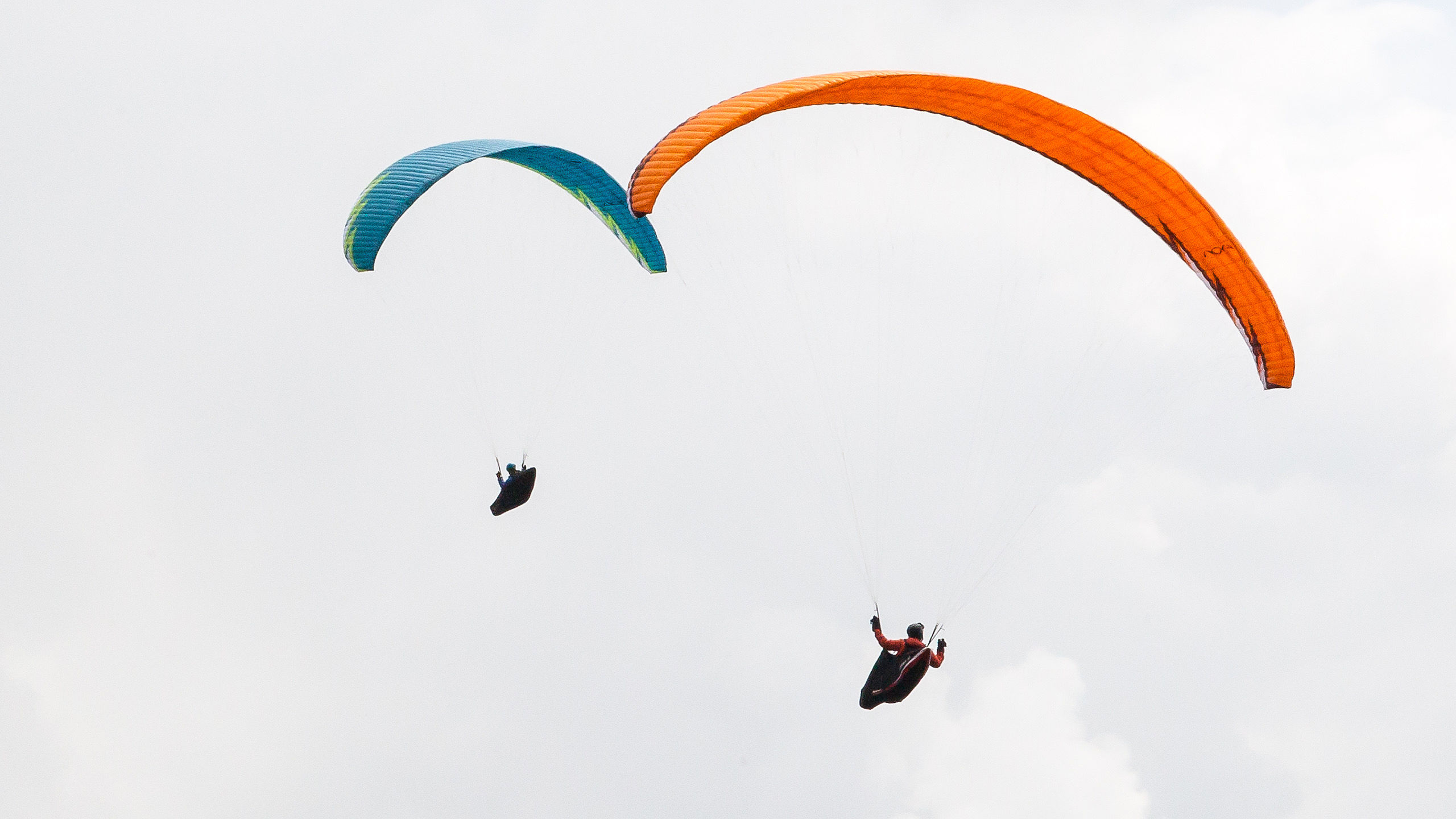 PARAGLIDING FLIGHT EXTREME SPORT  ART WALL LARGE IMAGE GIANT POSTER !!